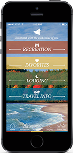 Download the Wilds of Michigan App